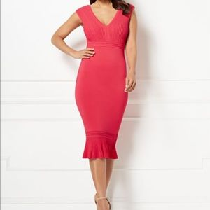 NWT | Eva Mendes Collection Krista Sweater Dress